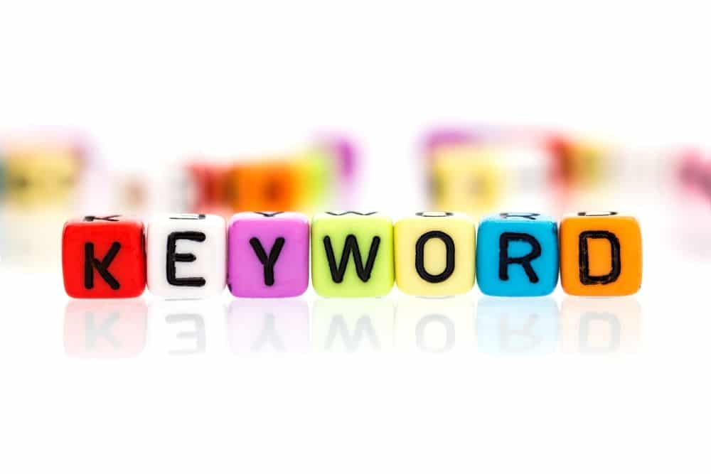start with your keyword